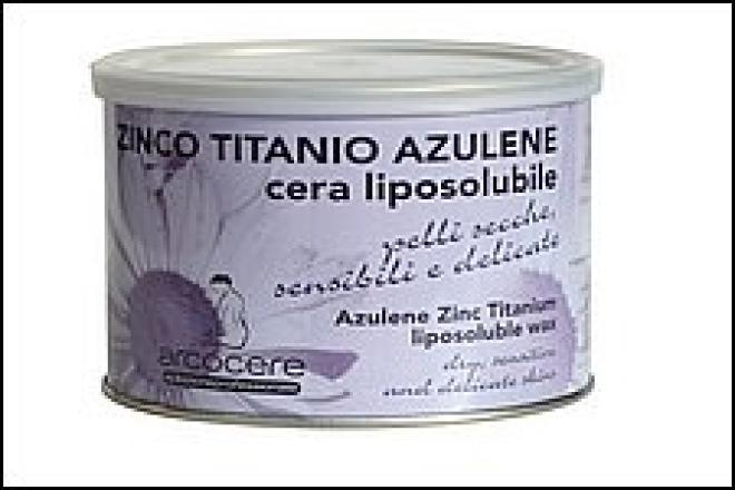 Arco  Wosk 400 ml azulenowy z cynkiem - puszka Депиляция  оптом