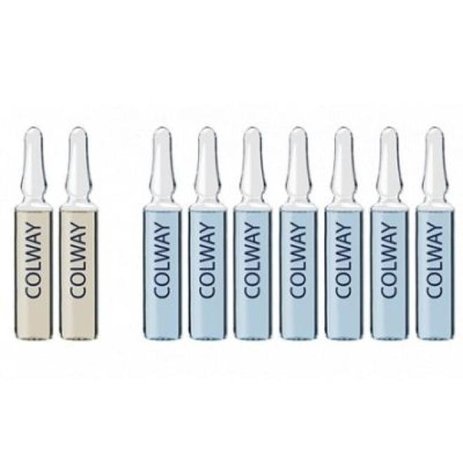 Colway  Ampułki Colway Blue diamond spectrum 9 dniowa kuracja liftingująca 9 x 2ml Ампулы, мезотерапия  оптом