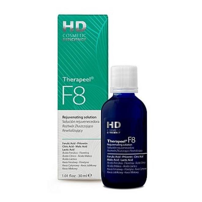 HD Cosmetic Efficiency  Roztwór Złuszczająco - Rewitalizujący HD Therapeel F8 Rejuvenating solution 30 ml Медицинские кислоты и пиллинг --//-- оптом
