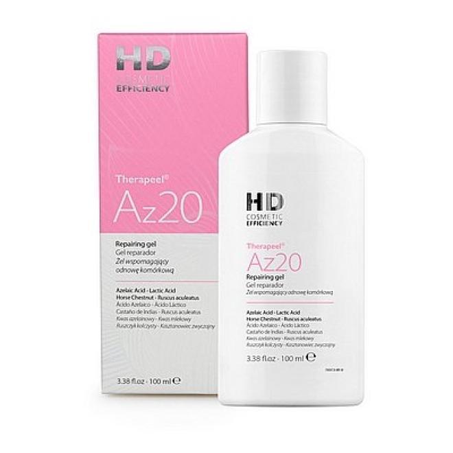 HD Cosmetic Efficiency  Żel wspomagający odnowę komórkową HD Therapeel Az20 Repairing gel 100 ml Медицинские кислоты и пиллинг --//-- оптом