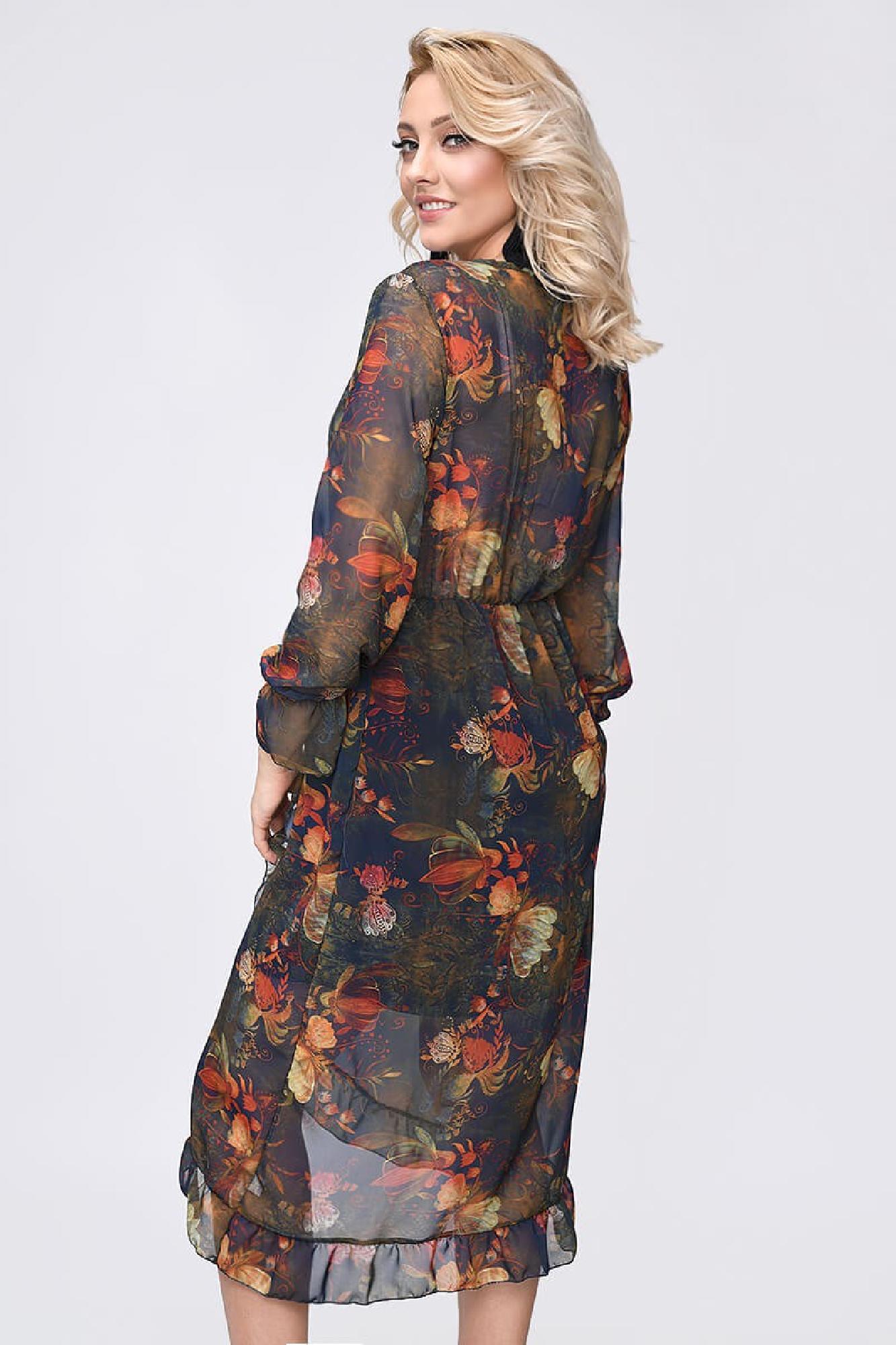 VITESI  3269F-2 Платье Коричневый оптом