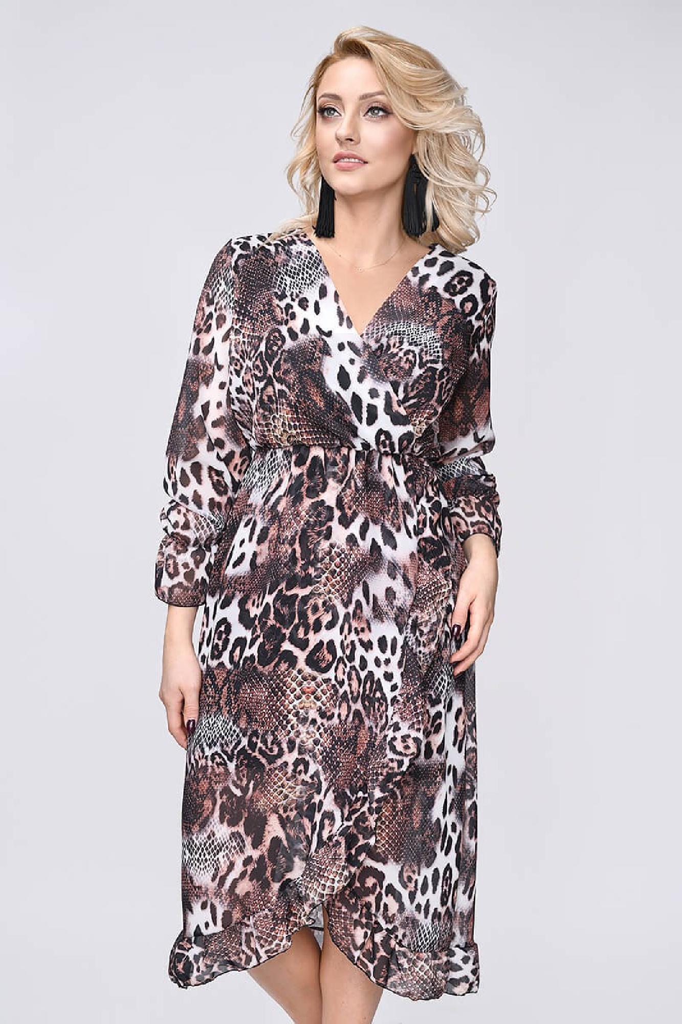 VITESI  3269F-4 Платье Коричневый оптом