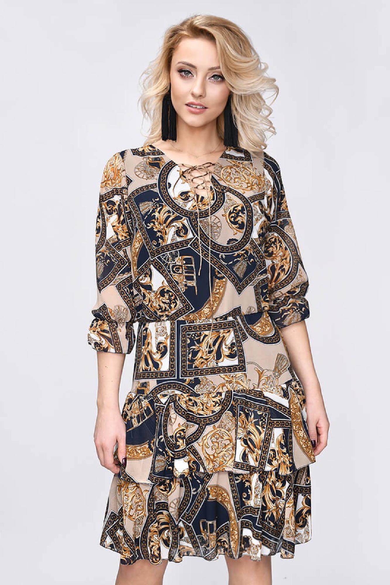 VITESI  3268F-3 Платье Коричневый оптом