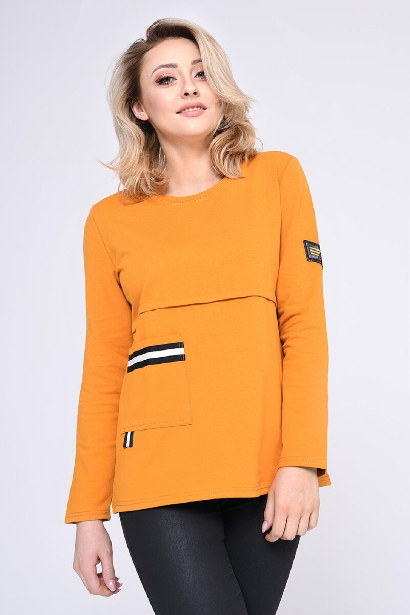 VITESI  3179F Блузка Оранжевый оптом
