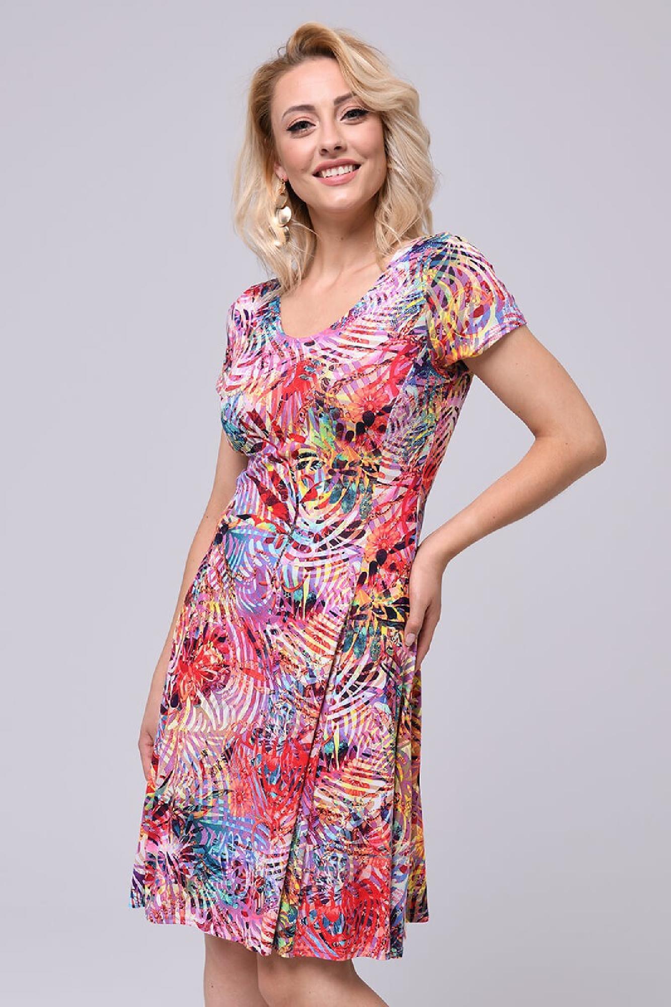 VITESI  3216F Платье Многоцветный оптом