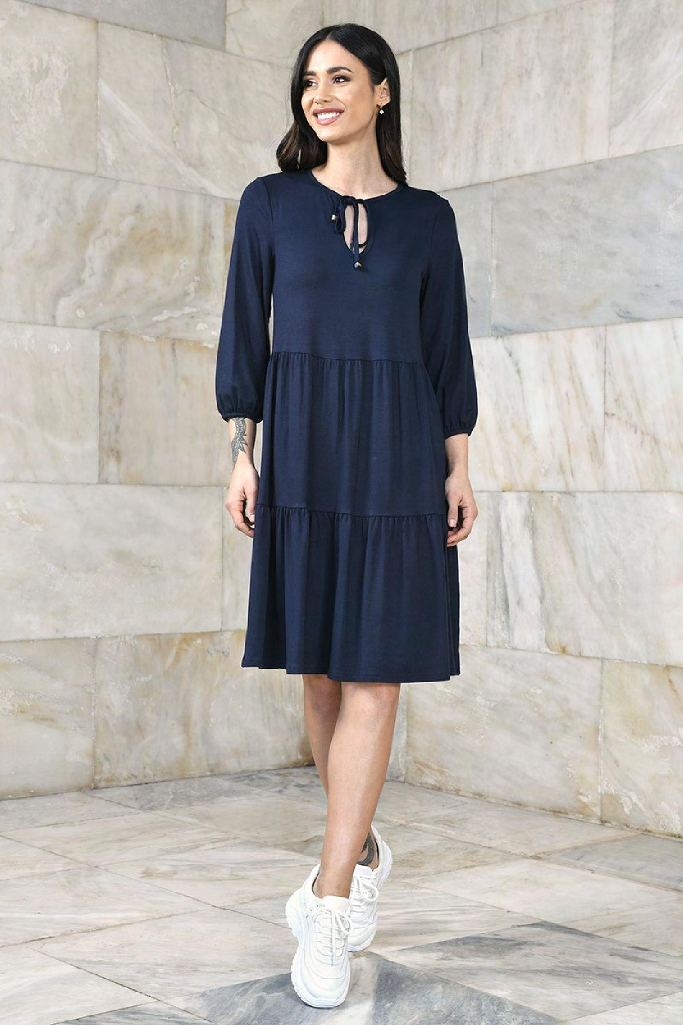 VITESI  02205-WL21 /10 Платье Голубой оптом