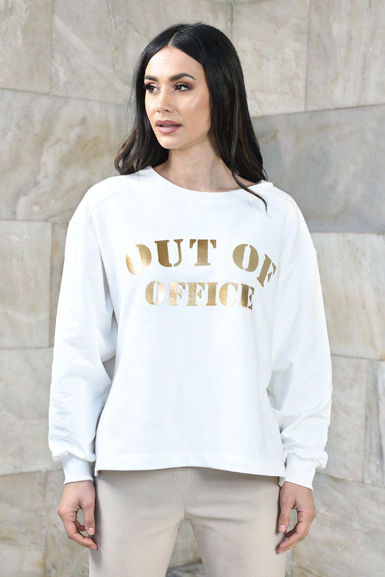 VITESI  01203-WL21 /02 Трикотажные брюки Экри оптом