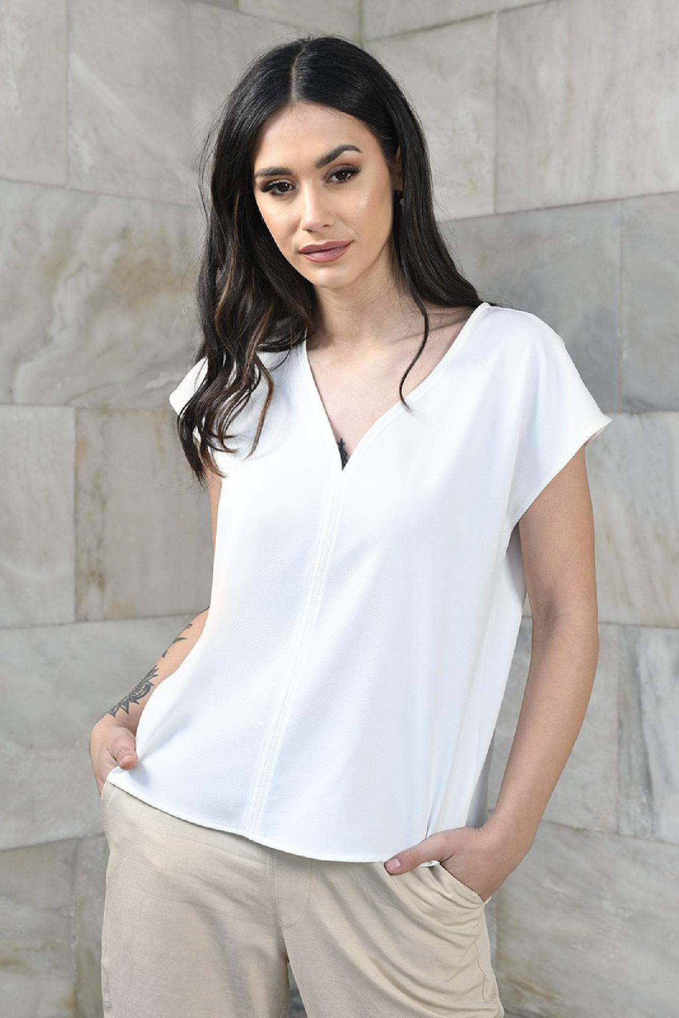 VITESI  01105-WL21/01s Блузка Белый оптом