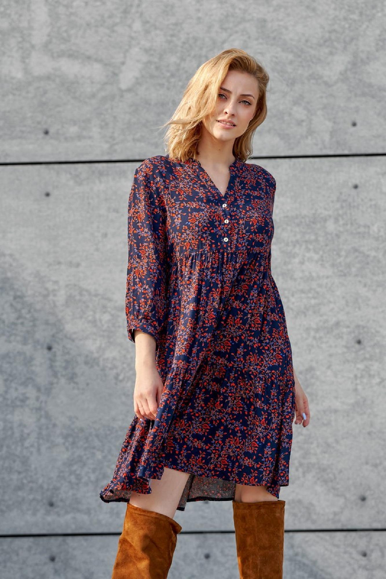 VITESI  02124-JZ22_4 Платье Многоцветный оптом