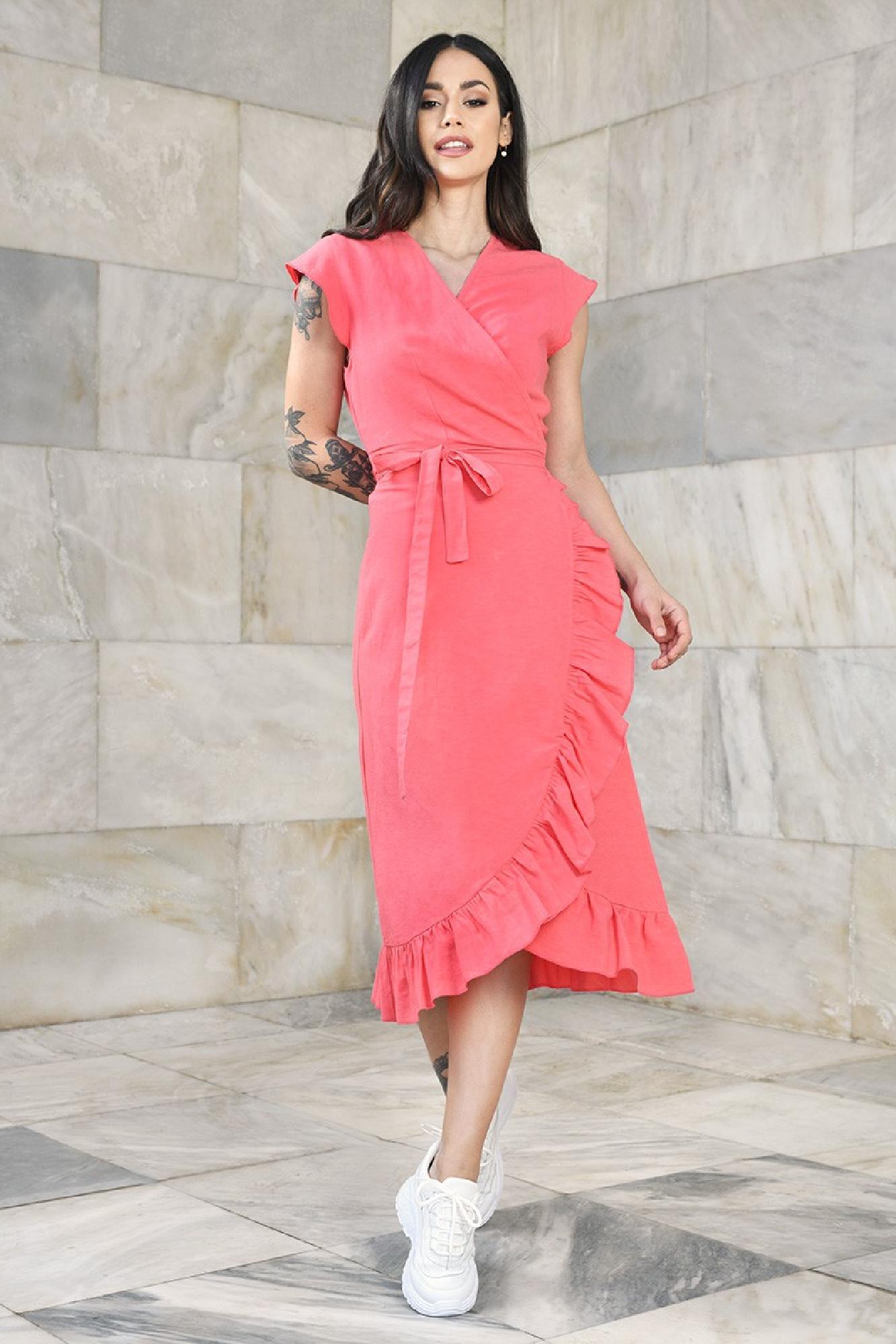 VITESI  02114-WL21/04 Платье Розовый оптом