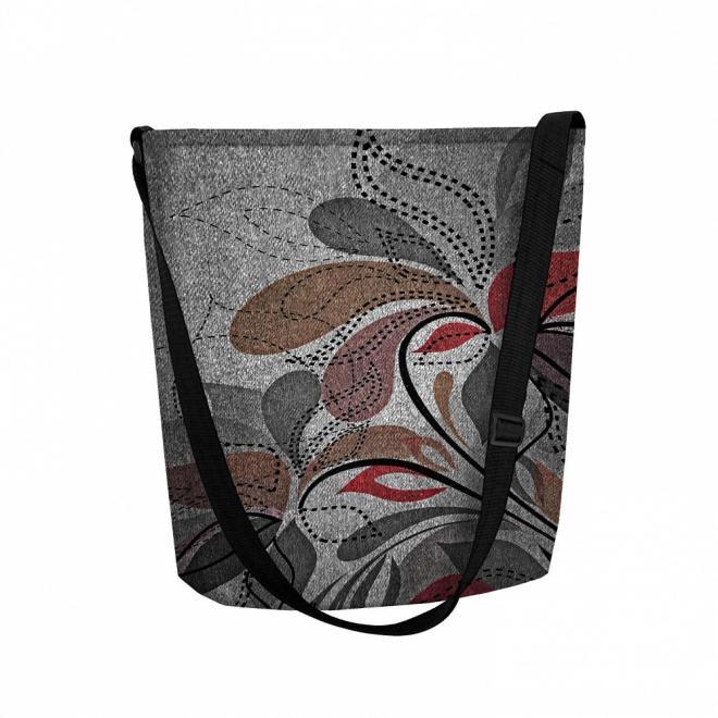 BERTONI  torba filcowa z nadrukiem M71691 Сумочка Multikolor оптом