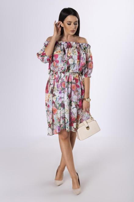 MARTEX  sukienka w kwiaty M83798 Платье Multikolor оптом