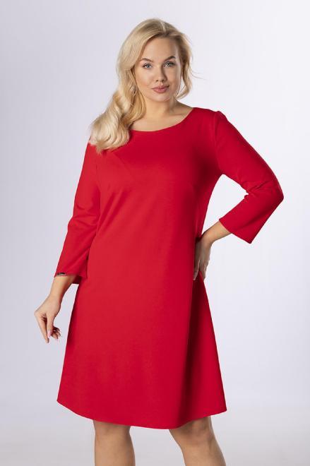 MODA DOROTHY  Prosta sukienka z kieszeniami M83885 Платье Красный оптом