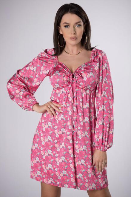 LA PERLA  sukienka w kwiatowy print M84095 Платье Multikolor оптом