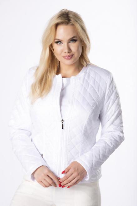 HOLI  pikowana kurtka M76008 Куртка белый оптом