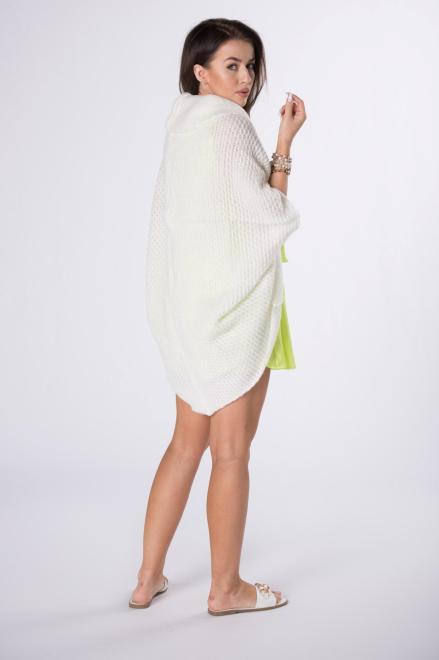 STAY HERE  sweter oversize M84524 Свитер Кремовый оптом