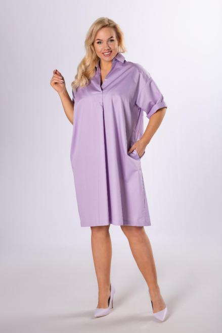 Rivabella  tunika oversize M83951 Блузка Фиолетовый оптом