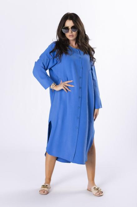 Rivabella  koszulowa sukienka M84665 Платье Голубой оптом