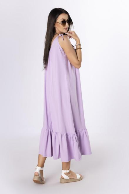 OOH LA LA  sukienka na ramiączkach M84076 Платье Фиолетовый оптом