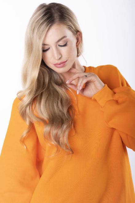 EX MODA  bluza oversize M84959 Блуза Оранжевый оптом