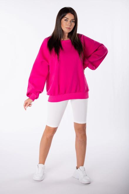 EX MODA  bluza oversize M84959 Блуза Розовый оптом