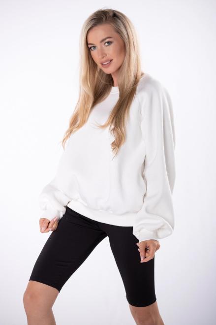 EX MODA  bluza oversize M84959 Блуза Кремовый оптом