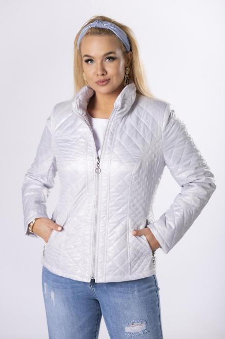 HOLI  casualowa kurtka z pikowaniem  M83322 Куртка +Size серый оптом