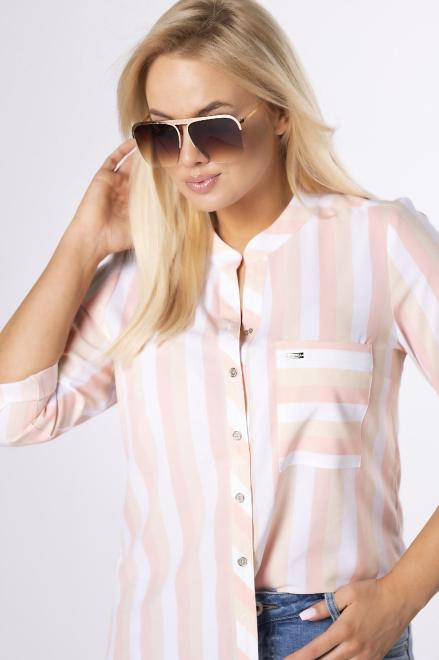SANDRA  koszula z printem M84124 +Size Multikolor оптом