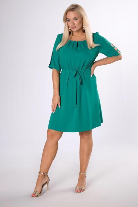 TRYNITE  sukienka z rozcięciami na plecach M84241 Платья +Size Зеленый оптом