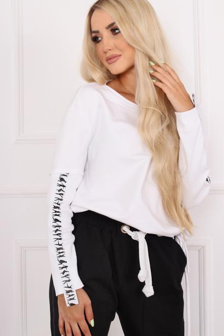 Alekssandra  Bluza KORA  Блуза Белый оптом