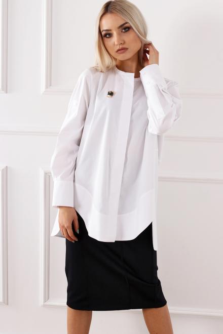 Alekssandra  Bluzka LAZUR Блузка Белый оптом