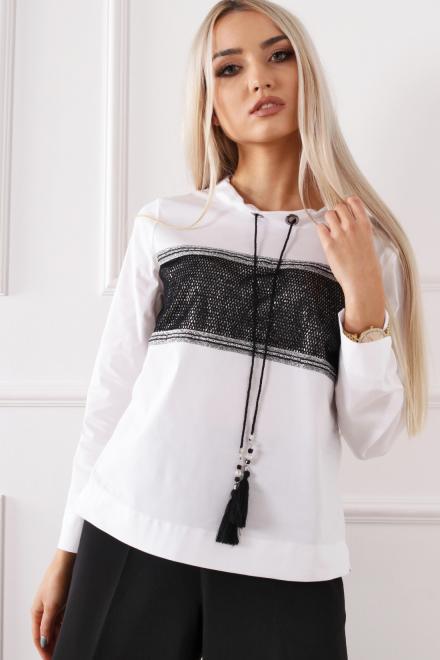 Alekssandra  MIGUEL Блузка белый оптом
