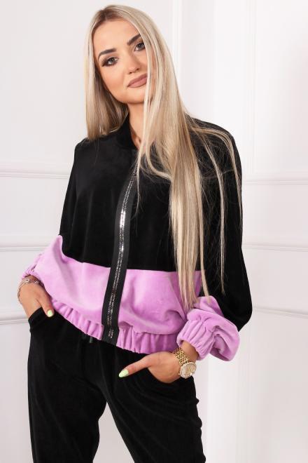 Alekssandra  Bluza IRYS Блуза Черный оптом