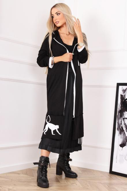 Alekssandra  Sukienka MAJA  Платье Черный оптом