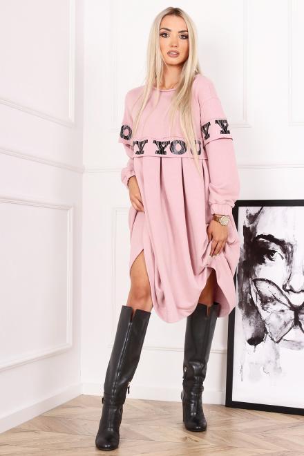 Alekssandra  Sukienka KADI Платье Розовый оптом