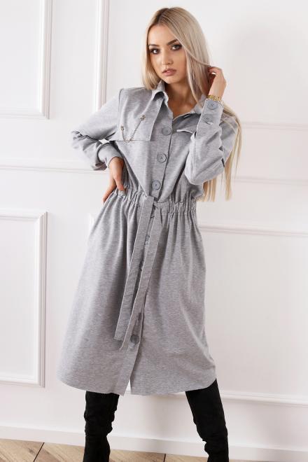 Alekssandra  Sukienka NIKA Платье Серый оптом