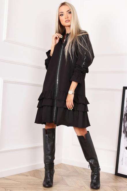 Alekssandra  Sukienka FARGO Платье Черный оптом