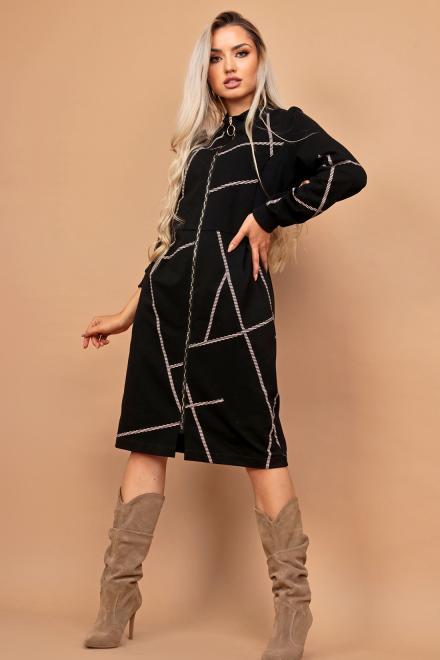Alekssandra  AMSTERDAM Платье черный оптом