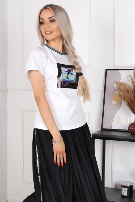 Alekssandra  ROWER  Блузка белый оптом