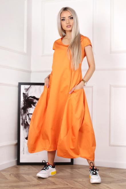 Alekssandra  Sukienka PANTERA  Платье Оранжевый оптом