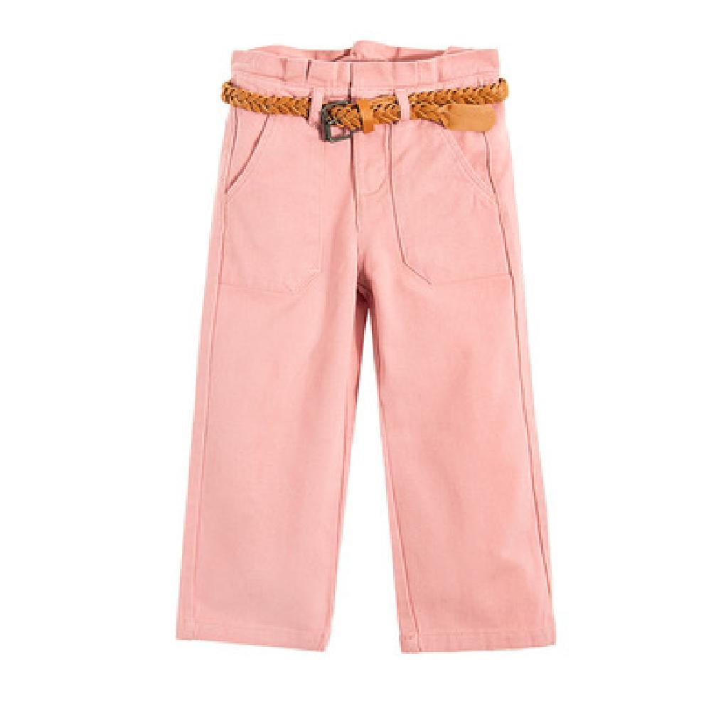 SM  Spodnie dziewczęce, różowe Брюки Розовый оптом