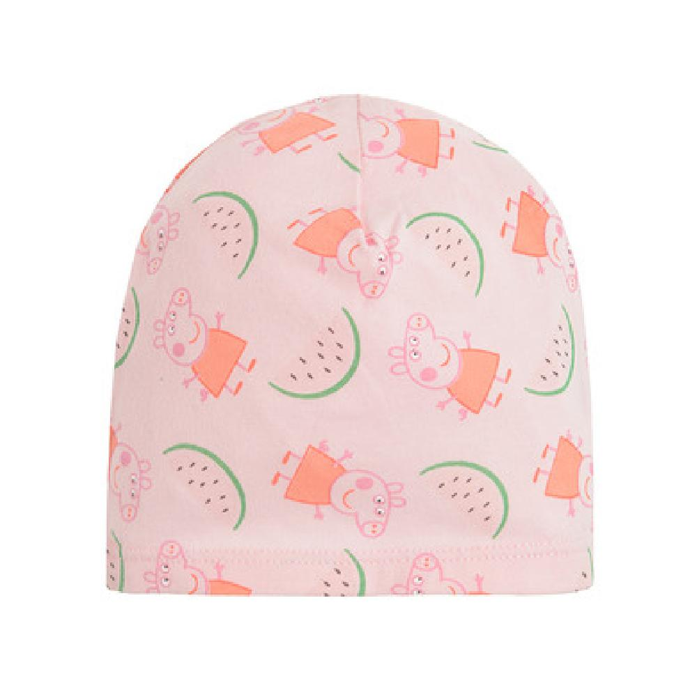 SM  Czapka dziewczęca, różowa, Świnka Peppa шапка Светлорозовый оптом